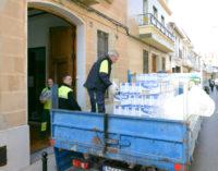 Càritas rep 8.145 quilos d'aliments amb la col·laboració de l'Ajuntament de Paiporta