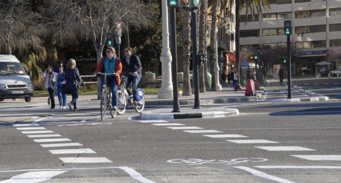 Nou carril bici del centre a Benimaclet