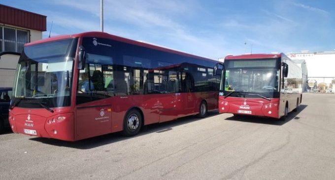 L'autobús urbà municipal modifica les línies en la setmana fallera