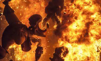 """Cremen la falla del Regne en """"acte vandàlic"""": """"Ens l'han arrabassada i no tocava"""""""