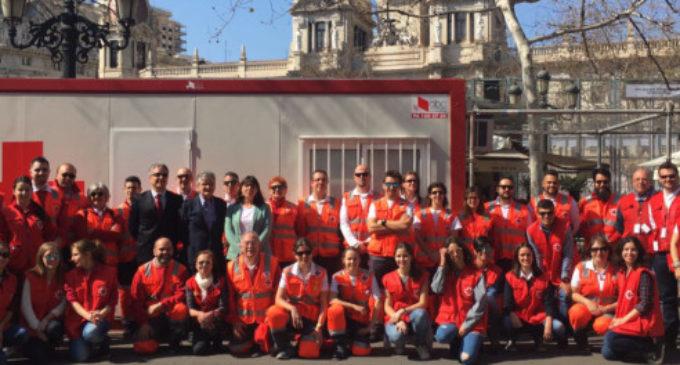 Creu Roja ha atés fins al moment a 398 persones en el dispositiu de Falles