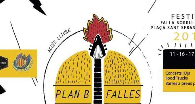 Torna Plan B Falles Festival en la Plaça Sant Sebastià de València