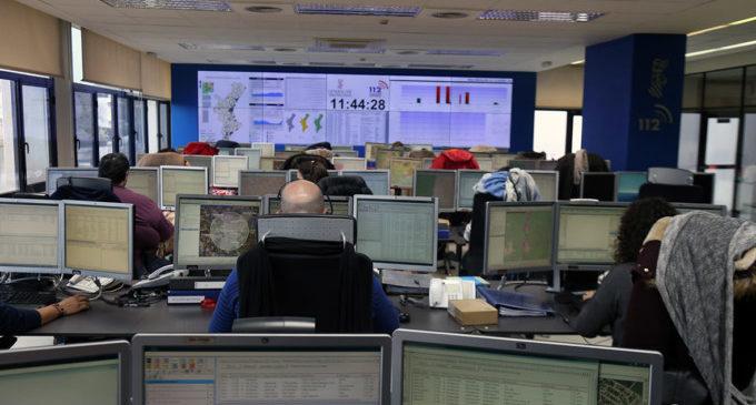"""El telèfon d'Emergències """"1·1·2 Comunitat Valenciana"""" ha rebut aquest estiu més de mig milió de trucades i ha gestionat 138.000 incidents"""