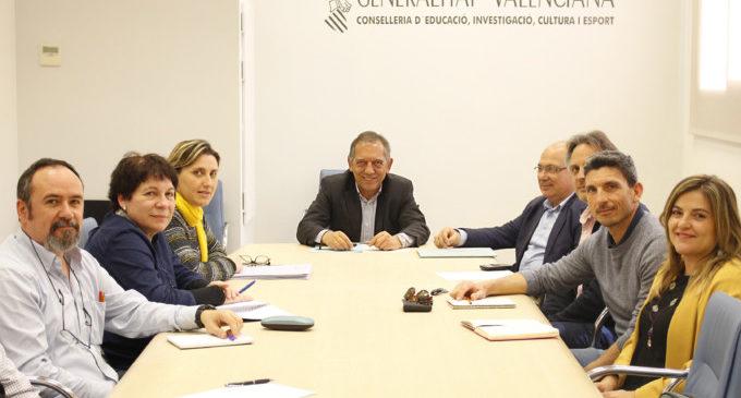 Educació habilitarà tres noves seccions de l'Escola Oficial d'Idiomes de València per al curs 2018-2019