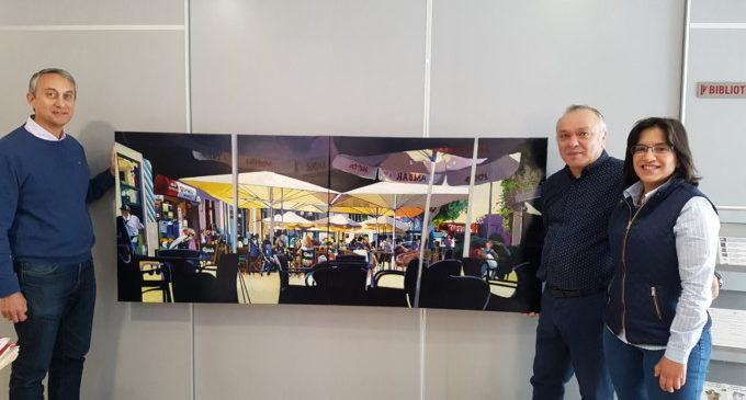 L'artista alzireny Josep Francés torna a fer una donació de les seues obres al MUMA