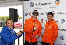 Volkswagen desafia a un entrenament molt especial als jugadors del València Cf