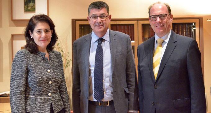 Recepció a la primera cònsol honorària de Suïssa a València