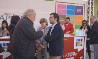 Sagredo visita el barri de Terramelar per a conéixer les demandes dels seus veïns