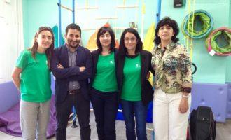 Marzà visita la primera aula multisensorial valenciana