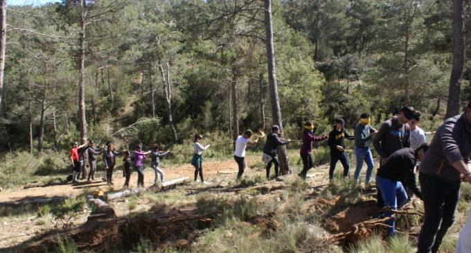 L'Escola d'Enologia de Requena forma a monitors per a conscienciar sobre la protecció dels boscos
