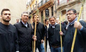El President de les Corts i parlamentaris participen en la Romeria de la Santa Faç d'Alacant