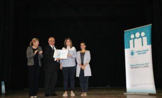 Caixa Rural premia el millor expedient acadèmic de Torrent