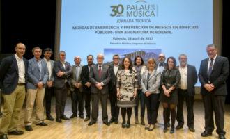 Jornada de mesures d'emergència i riscos laborals en edificis públics