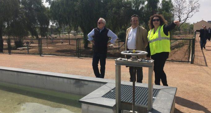 Sarrià: 'El nou parc urbà de Malilla és un dels més complets de la ciutat'