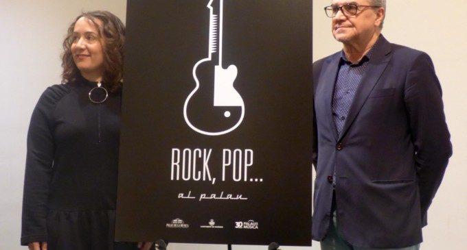 El Palau de la Música presenta el cicle 'Rock, Pop...al Palau 2017'