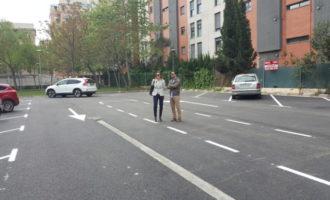 Noves places d'aparcament públic per als veïns de Lloma Llarga-Valterna