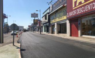 La zona comercial d'Alfafar es converteix en una de les més importants de la Comunitat