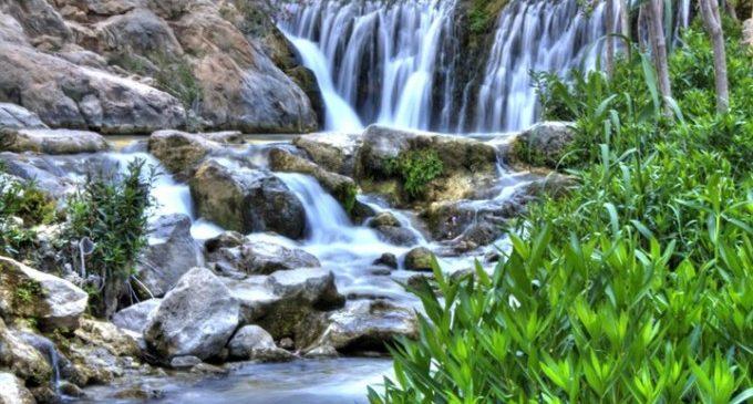 Fonts de l'Algar, tot un oasi a Alacant
