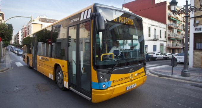 Servicio nocturno y de lanzadera para nuevas líneas de autobús de València Metropolitana Oeste