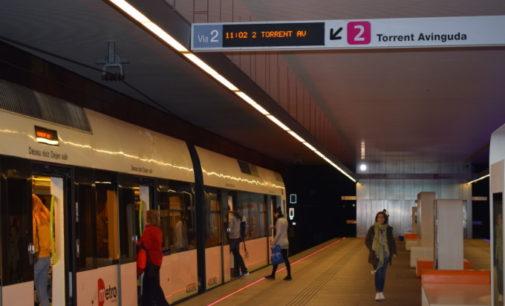 Metrovalència oferirà el 23 d'abril serveis mínims del 70% en les parades parcials convocades en el tranvia