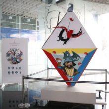 El poliedro 'Reinterpretant a Jaume I' se expone en el Metro Torrent Avinguda
