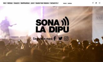 La nova web del Sona la Dipu es converteix en una llançadora de grups valencians orientada a l'usuari