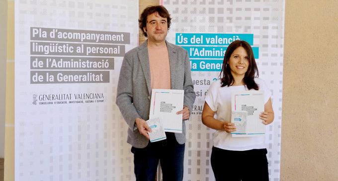El 87,4% del personal de la Generalitat té acreditació en coneixements del valencià