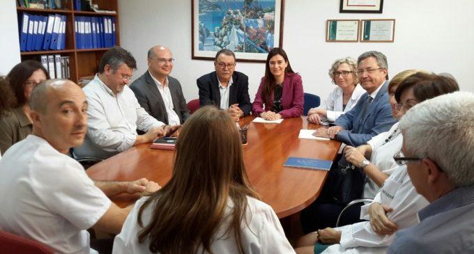 El departament de salut de La Marina Baixa rebrà 19,3 milions d'euros per a l'ampliació de l'Hospital de La Vila Joiosa i renovar equipament