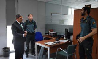 La delincuencia en la Comunidad Valenciana bajó en un 17% en los últimos 5 años en la demarcación de la Guardia Civil