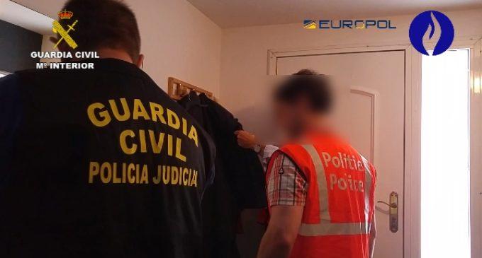 La Guàrdia Civil desarticula una xarxa dedicada a l'explotació laboral de ciutadans residents a Espanya