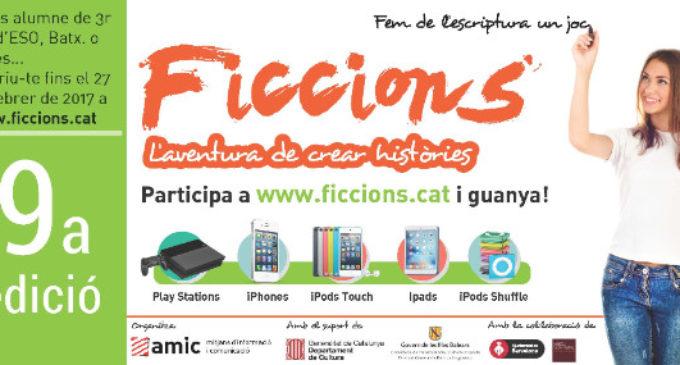 """30 Històries del País Valencià arriben a la final del Concurs Literaria """"Ficcions"""""""