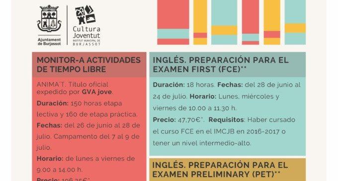 Les matrícules de l'Aula d'Estiu del Centre de Formació Les Sitges s'obrin el 22 de maig