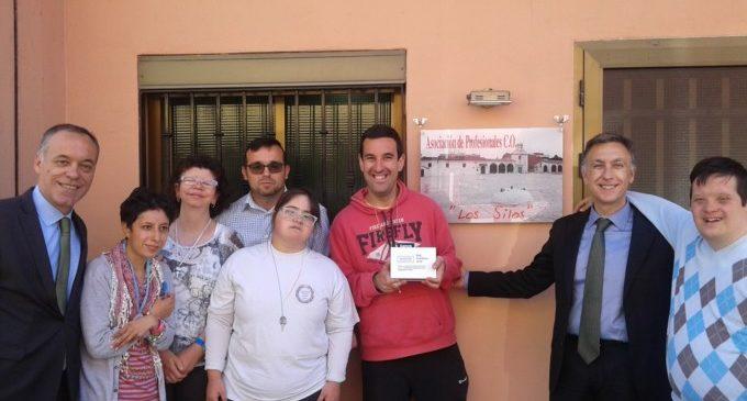 El Centre Ocupacional Les Sitges rep un premi en metàl·lic per la seua implicació en els projectes socials de Bankia