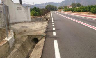 La Diputació destina 200.000 euros a completar la tercera fase de millora de la seguretat vial en la CV-675 entre Gandia i Barx