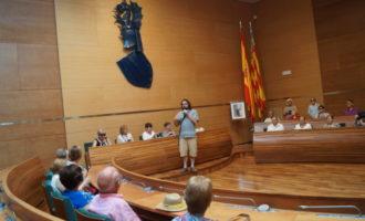 Un centenar de veïns de Real de Gandía i Gestalgar visiten la Diputació de València