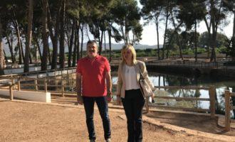 La Diputación pone en valor la Font de Quart como espacio natural y de recreo