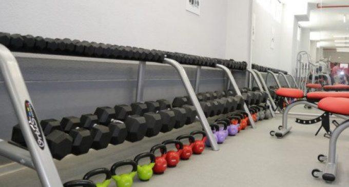 Nou equipament esportiu en el pavelló Malva-rosa
