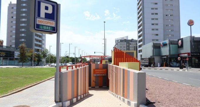 Torrent ultima el procés per a obrir al públic el pàrquing Juan Carlos I