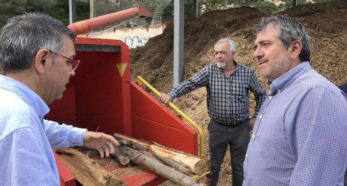 Josep Bort situa a Serra com a «model intel·ligent de gestió forestal»
