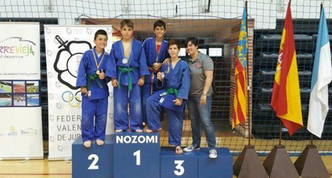 Or i bronze per a Judokan Alboraia en el Campionat Autonòmic Aleví de Torrevella
