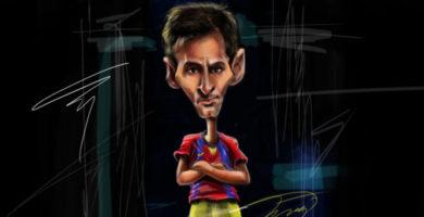 Messi, protagonista dins i fora del camp