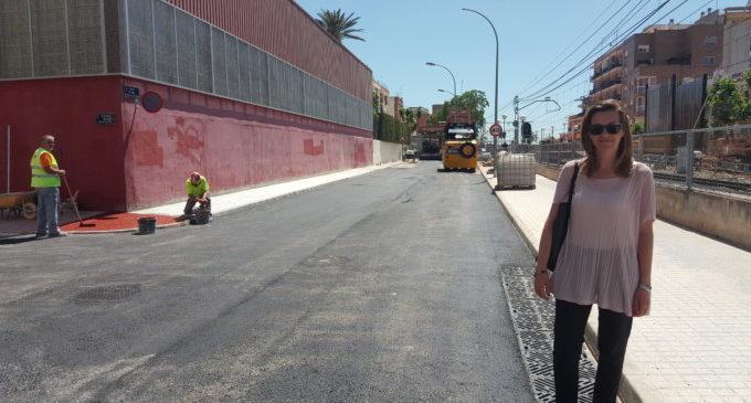 Paterna ultima les obres contra inundacions del barri Campament