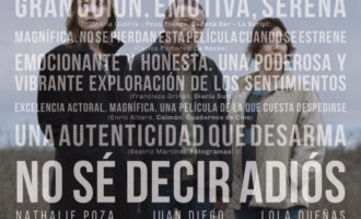Nathalie Poza y Lino Escalera presenten 'No sé decir adiós'