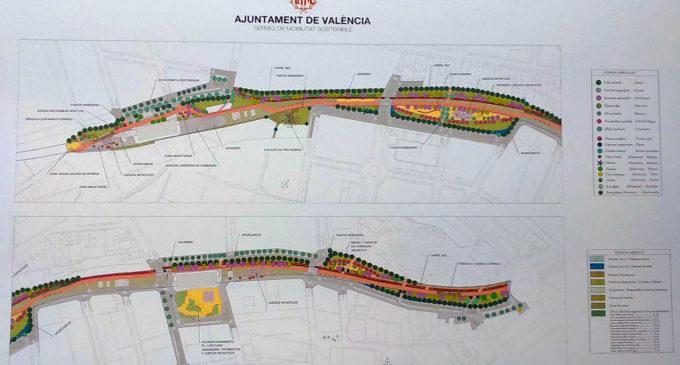 Llum verda al projecte modificat del Parc Lineal de Benimàmet