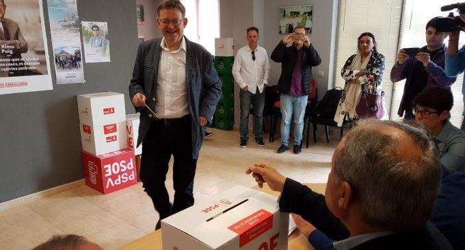 Més de 18.200 militants del PSPV trien hui al seu secretari general en 275 taules de votació