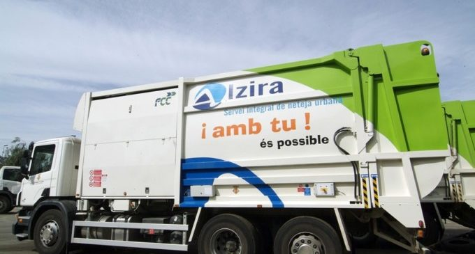 L'Ajuntament d'Alzira adjudica el servei de neteja a l'empresa Fomente de Construccions i contractes i estalvia al dia 5.000 euros