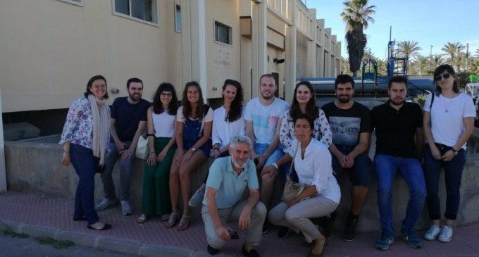 Alumnes de la Universitat Politècnica de València visiten les instal·lacions del Cicle Integral de l'Aigua