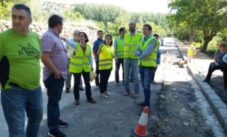 La Diputación invierte este año 1,3 millones de euros en mejorar las carreteras del Rincón de Ademuz