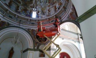L'Ajuntament de Burjassot renova tota la il·luminació de l'Ermita de Sant Roque