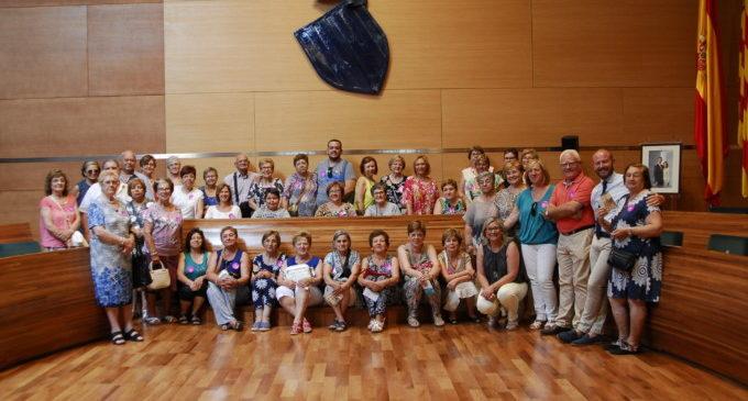 Els veïns de Llanera de Ranes visiten la Diputació de València